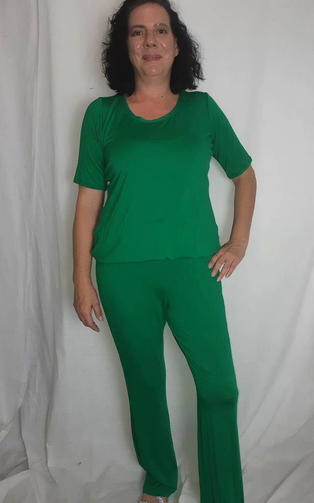 Size Large, Green Jumpsuit