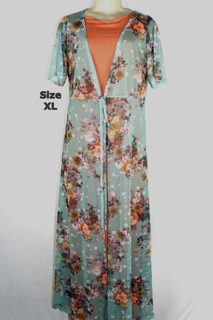 Size XL Cardigan Maxi