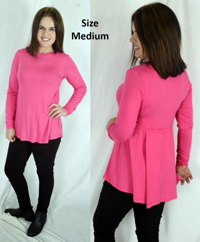 Size Medium Long Sleeve